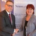 DIS AG Düsseldorf spendet anstatt Weihnachtsge- schenke für die Mitarbeiter